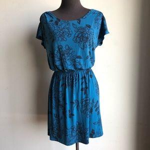 Banana Republic sx XS floral print dress